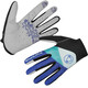 Endura Hummvee Lite Bike Gloves Men blue/black